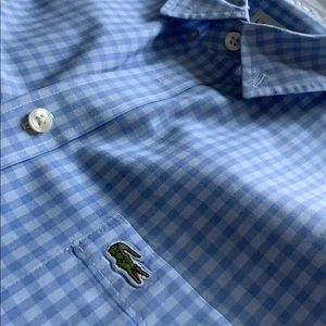 ❗️LACOSTE men's regular fit button-up❗️